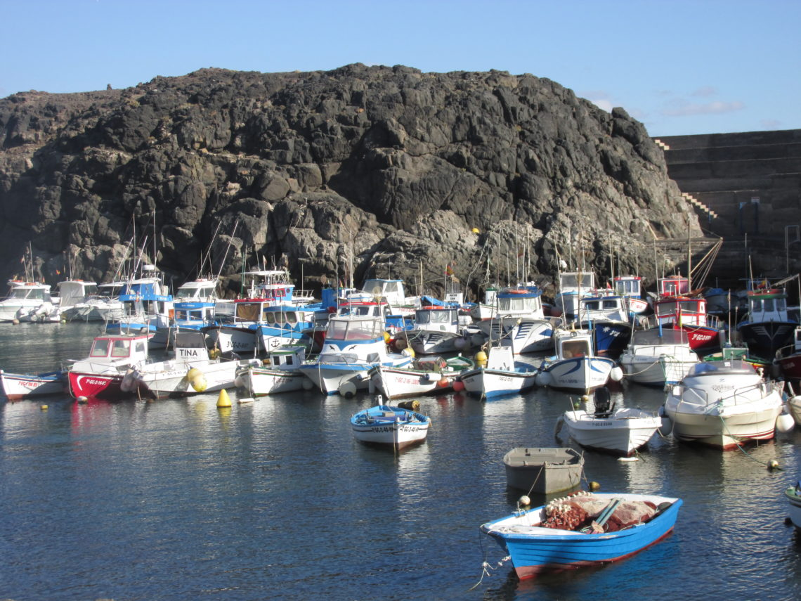 El Cotillo, a Fishing village in the north of Fuerteventura.