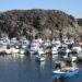 El Cotillo, a Fishing village in the north of Fuerteventura.