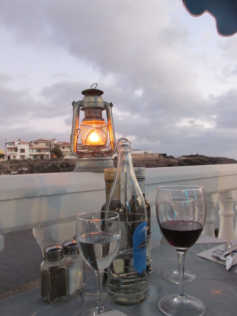 La Vaca Azul, amazing fish restaurant at el Cotillo (Fuerteventura)