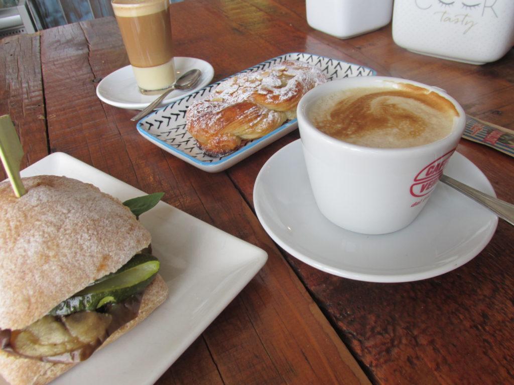 La Paneteca, a local bakery in Lajares (Fuerteventura).