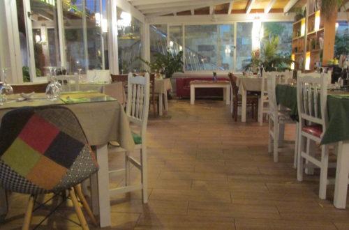 La Scarpetta da Mario, a modern and spacious Italian restaurant in Corralejo (Fuerteventura).