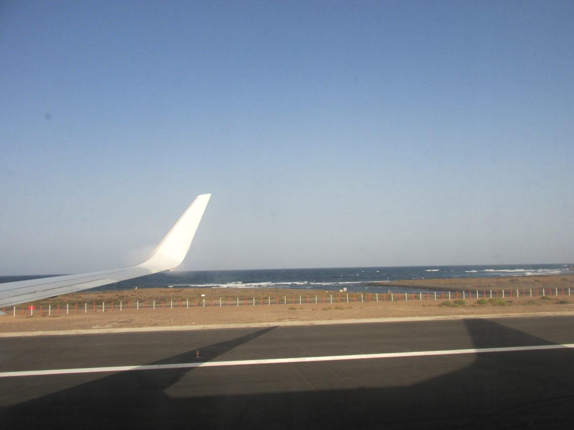 Puerto del Rosario the capital of Fuerteventura.