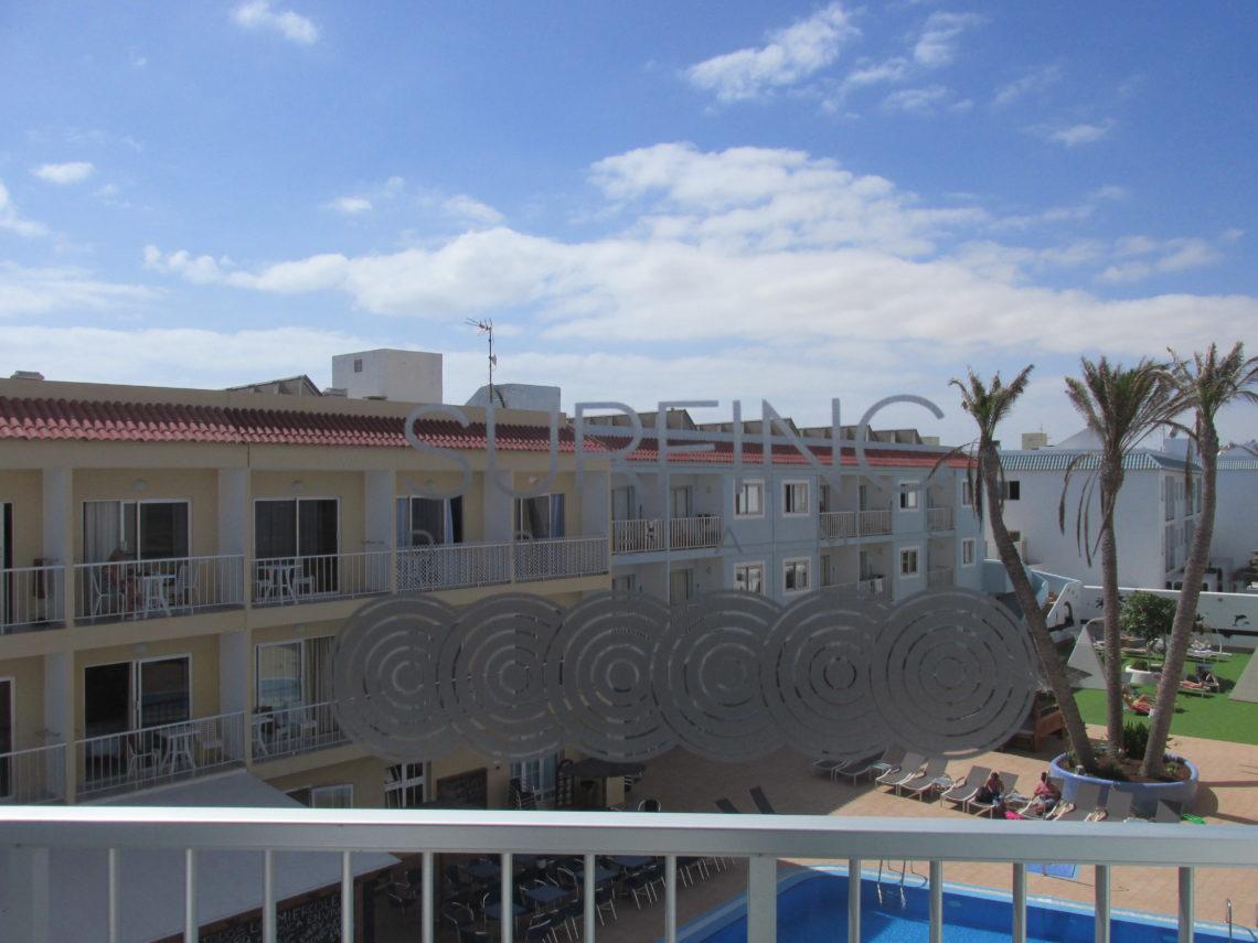 Surfing colors hotel in Corralejo centre near the beach.